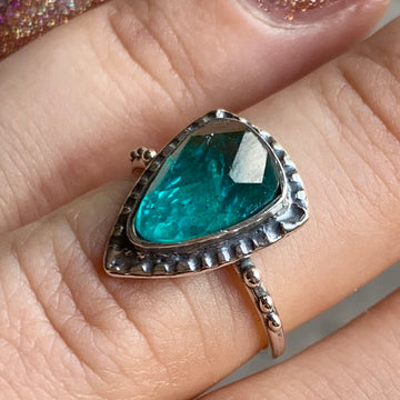 PRE-ORDER FOR KATELYN- Apatite Ring Sz 7.5