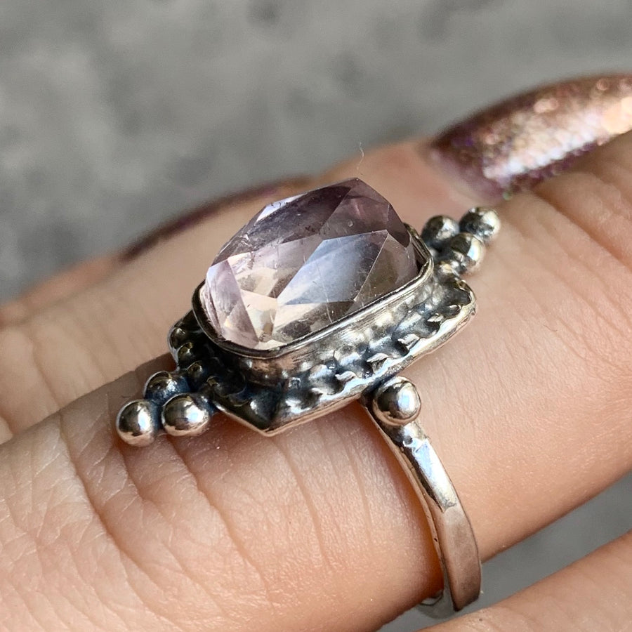 PRE-ORDER FOR KK- Kunzite Ring Sz 8