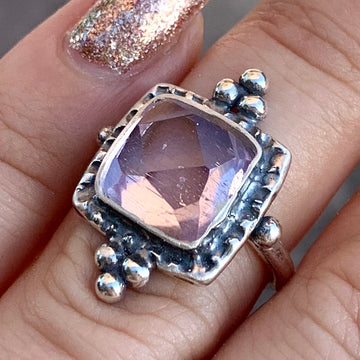 PRE-ORDER FOR JENNIFER- Kunzite Ring Sz 5