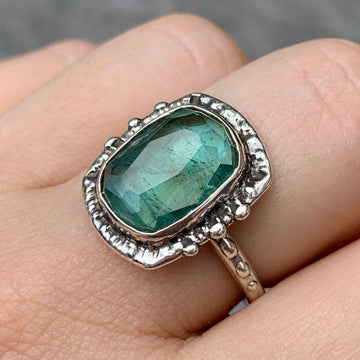 PRE-ORDER FOR DANIELLE- Indicolite Tourmaline Ring- Sz 9