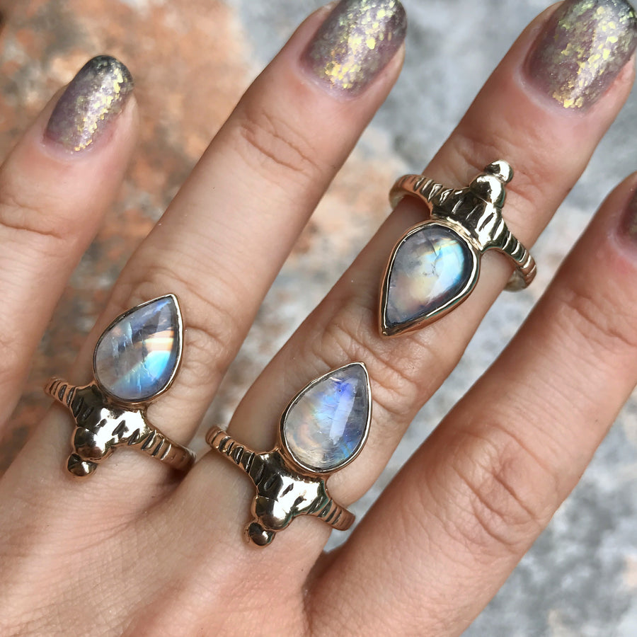 ORION Moonstone Ring
