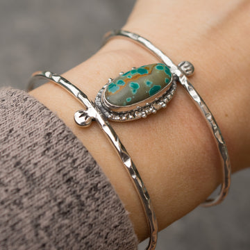 PRE-ORDER FOR JENNIFER- Pilot Mountain Turquoise Cuff