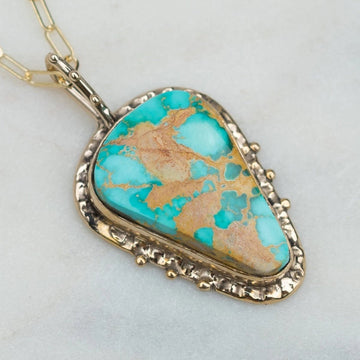 Royston Turquoise Bronze Necklace