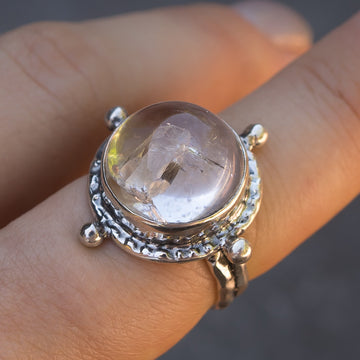 Manifestation Quartz Ring