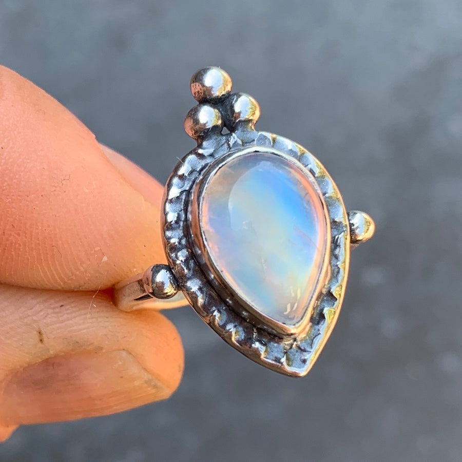 PRE-ORDER FOR JEN- Moonstone Ring Sz 7