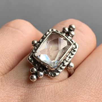 PRE-ORDER FOR KARA - Kunzite Ring Sz 7
