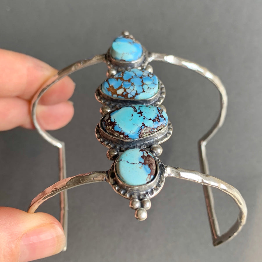 PRE-ORDER FOR MEREDITH- Lavender Turquoise Cuff
