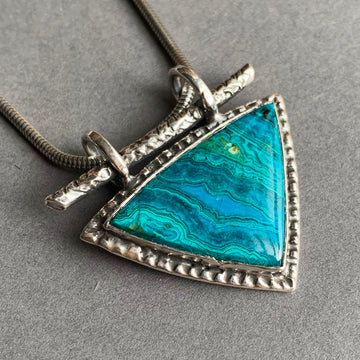 PRE-ORDER FOR SUZANNE- Chrysocolla Malachite Necklace