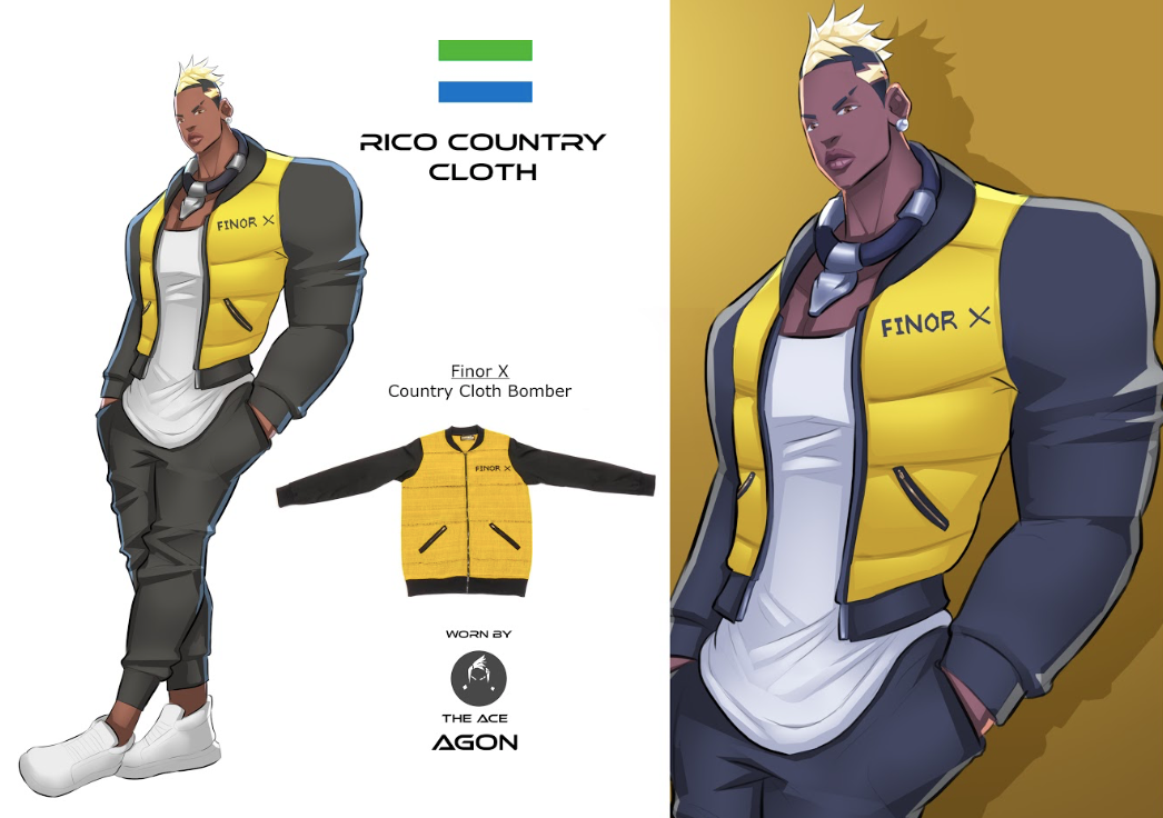 Rico - Country Cloth Yellow Bomber (10 TREES)