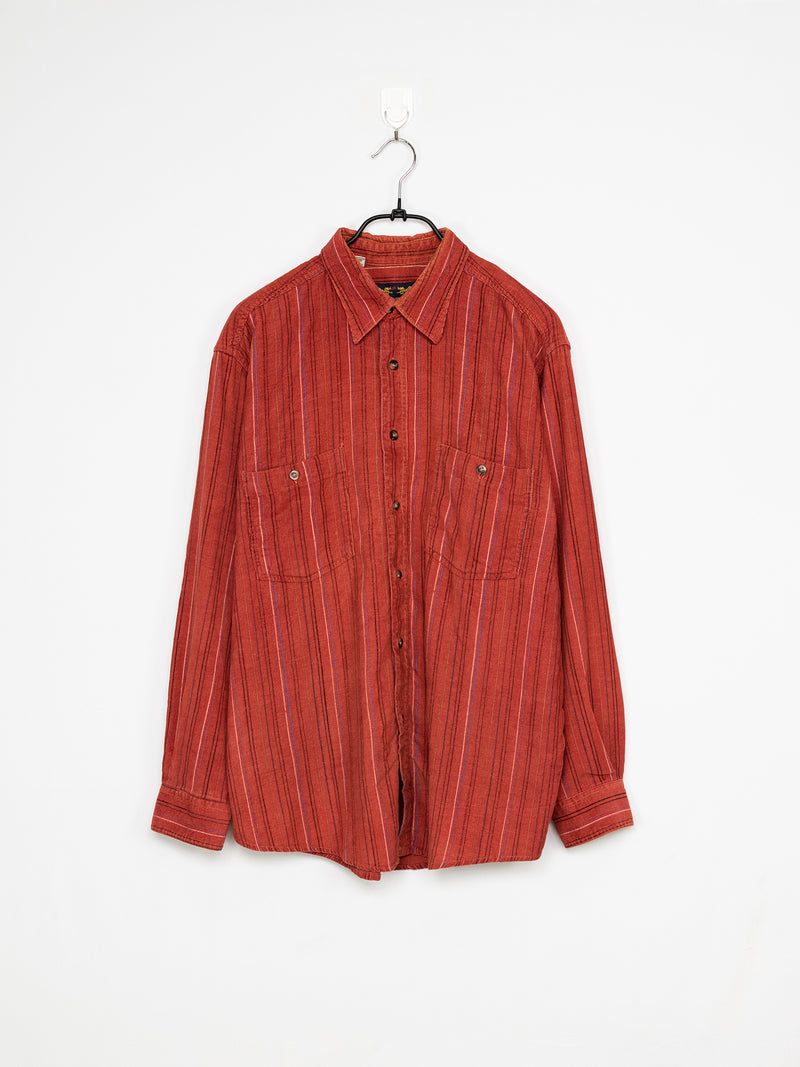 Camisa de Bombazina Hot Red – L