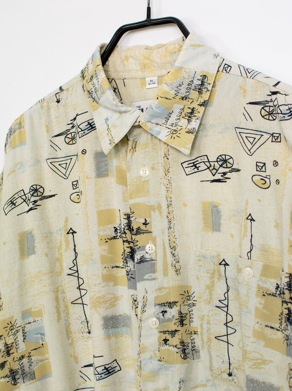 Camisa Sketches Made of Sand - XL