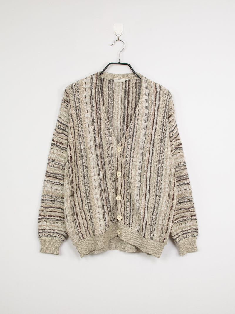 Cardigan de Malha Light Sand – M/L