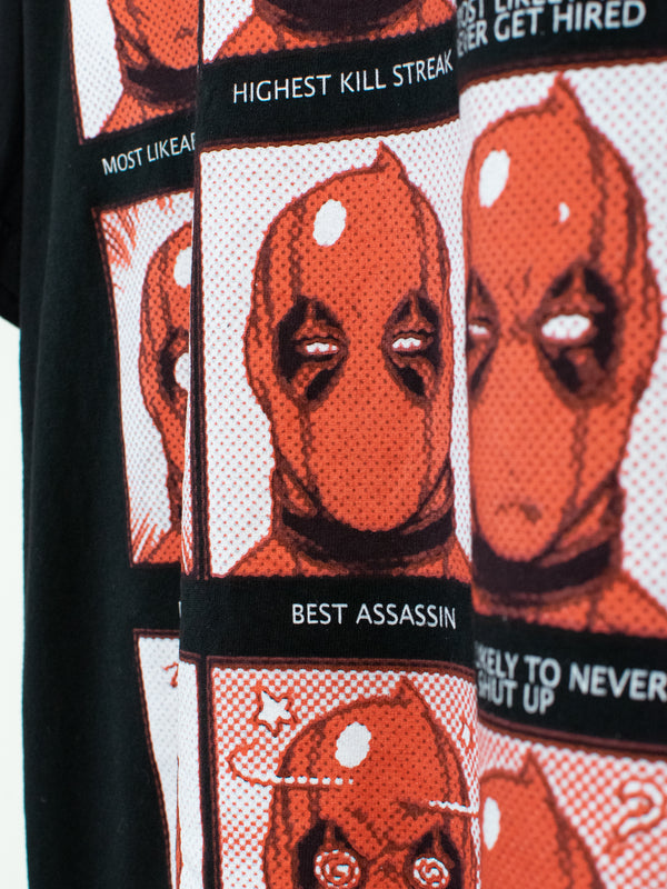 T-Shirt Deadpool Yearbook - L
