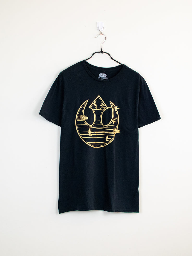 T-Shirt Star Wars Gold - L
