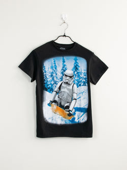 T-Shirt Star Wars Stormtrooper (in a snow storm) - S