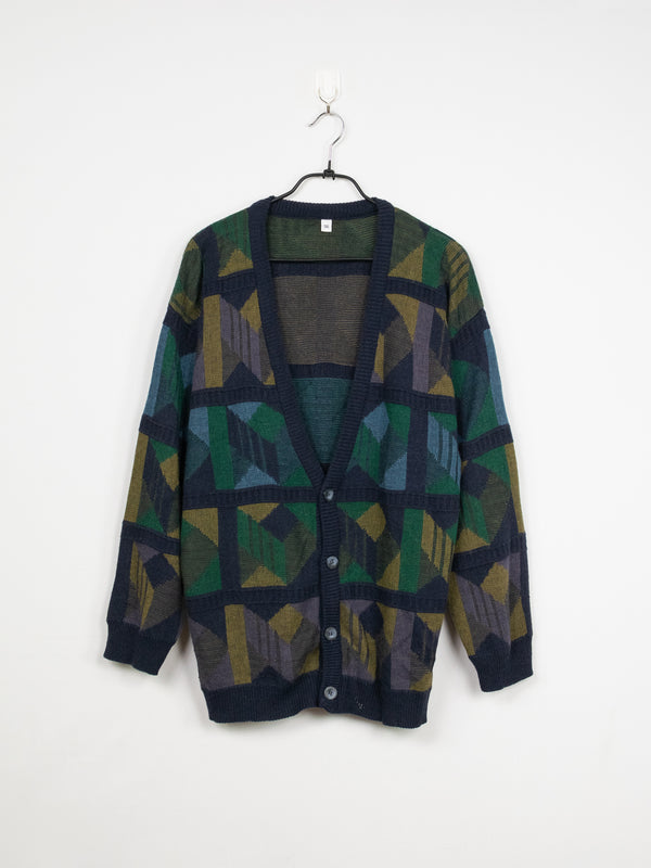 Cardigan de Malha Window - L
