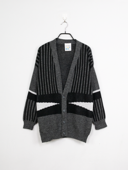 Cardigan de Malha Chess – XL