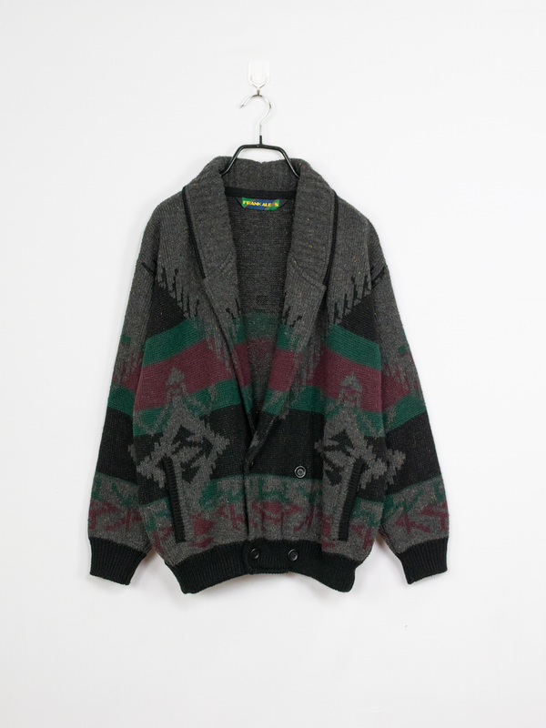 Cardigan de Malha Dark Forest – L
