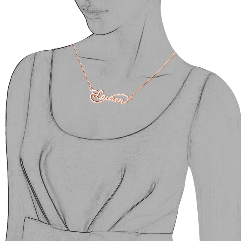 Penelope's Infinite Love Name Necklace