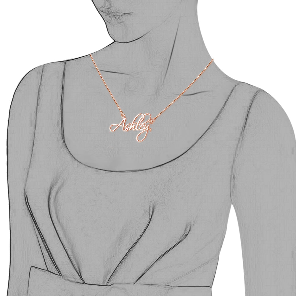 Penelope's Elegant Name Necklace