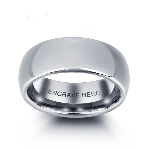 Penelope's Tungsten Steel Men's Promise Ring
