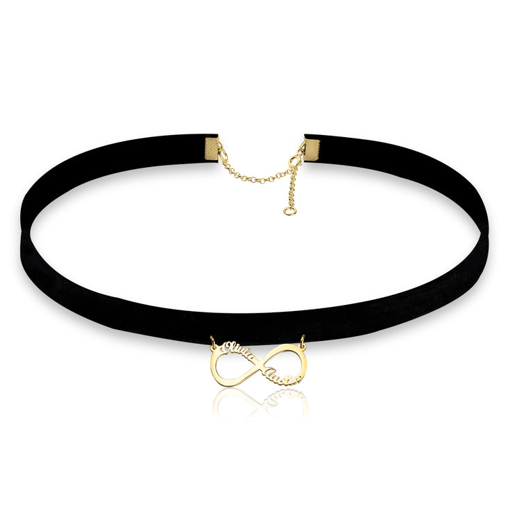 Infinity Friendship Choker