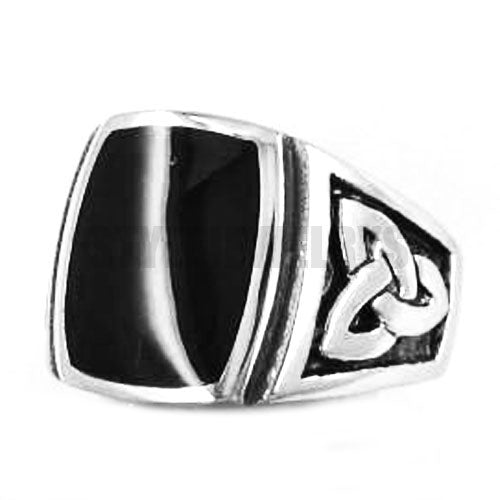 Penelope's Silver Stainless Steel Celtic Knot Ring