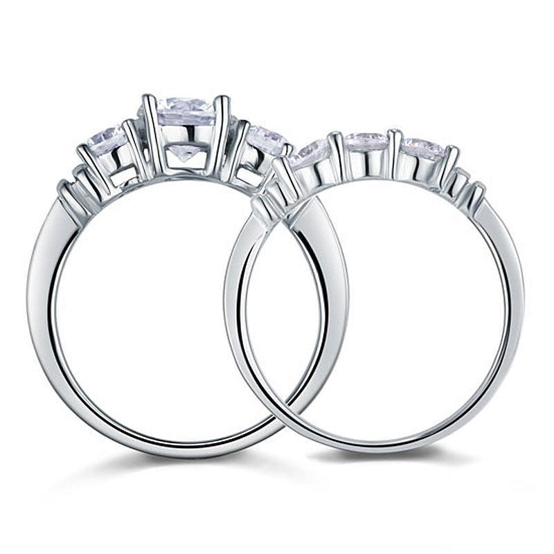 Penelope's Magnificent Beauty and Elegance Promise Ring Set