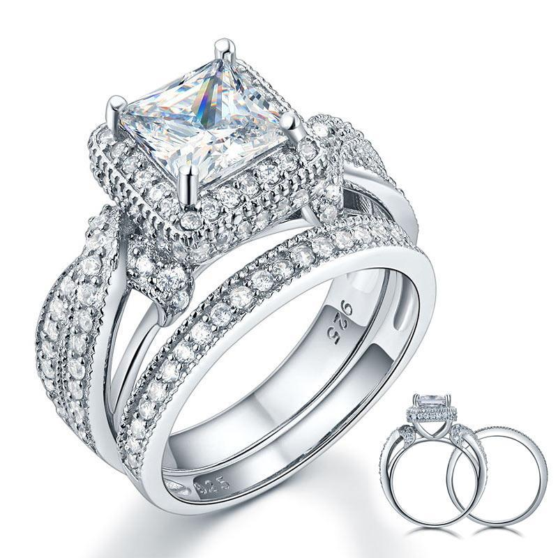 Penelope's Luminous Love Promise Ring Set
