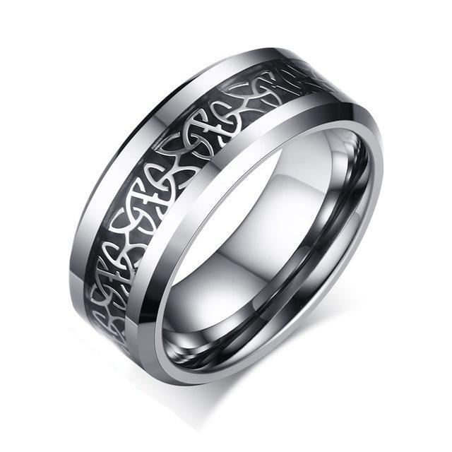Penelope's Tungsten Celtic Knot Ring