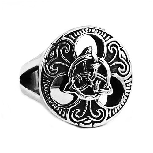 Penelope's Stainless Steel Celtic Knot Finger Ring