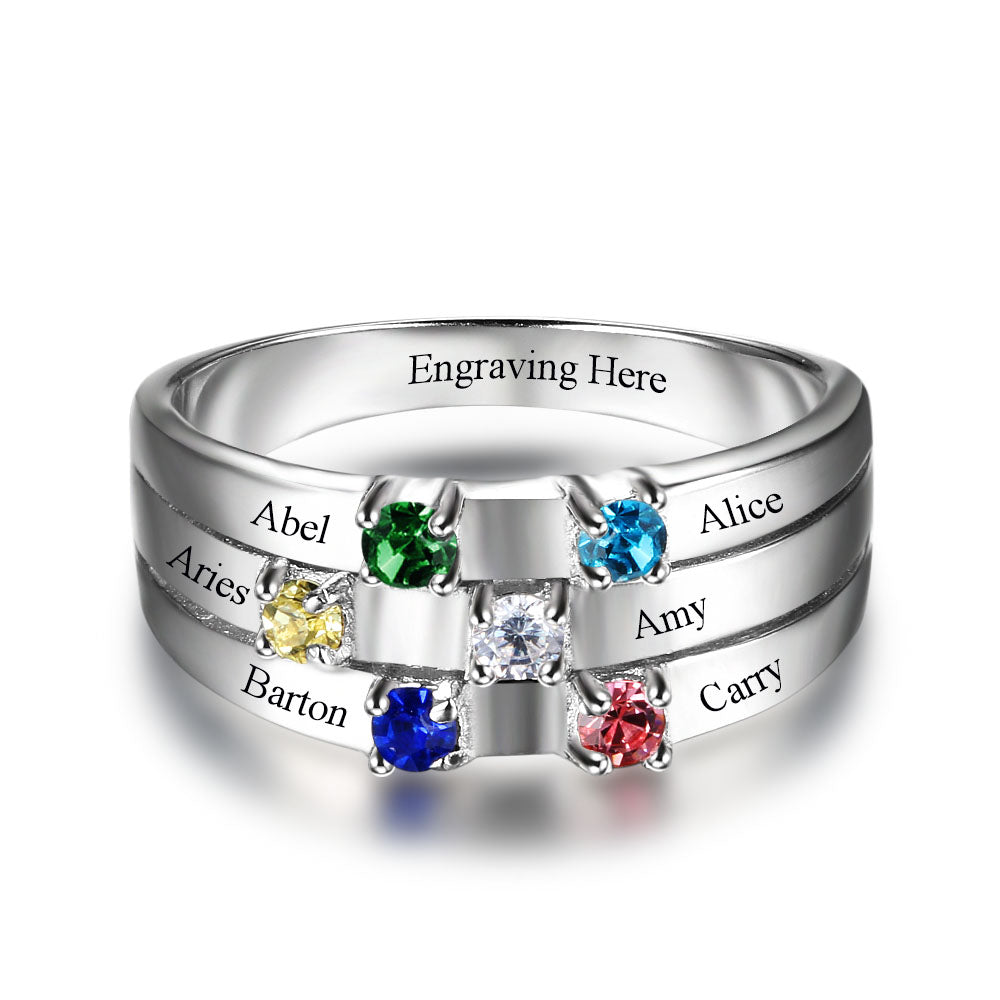Penelope's Family First Promise Ring
