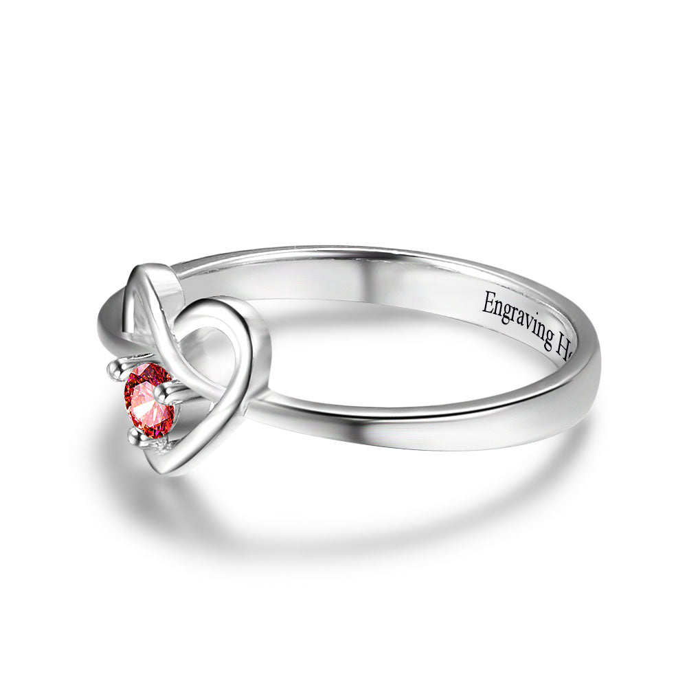 Penelope's Pure Heart Personalized Purity Ring