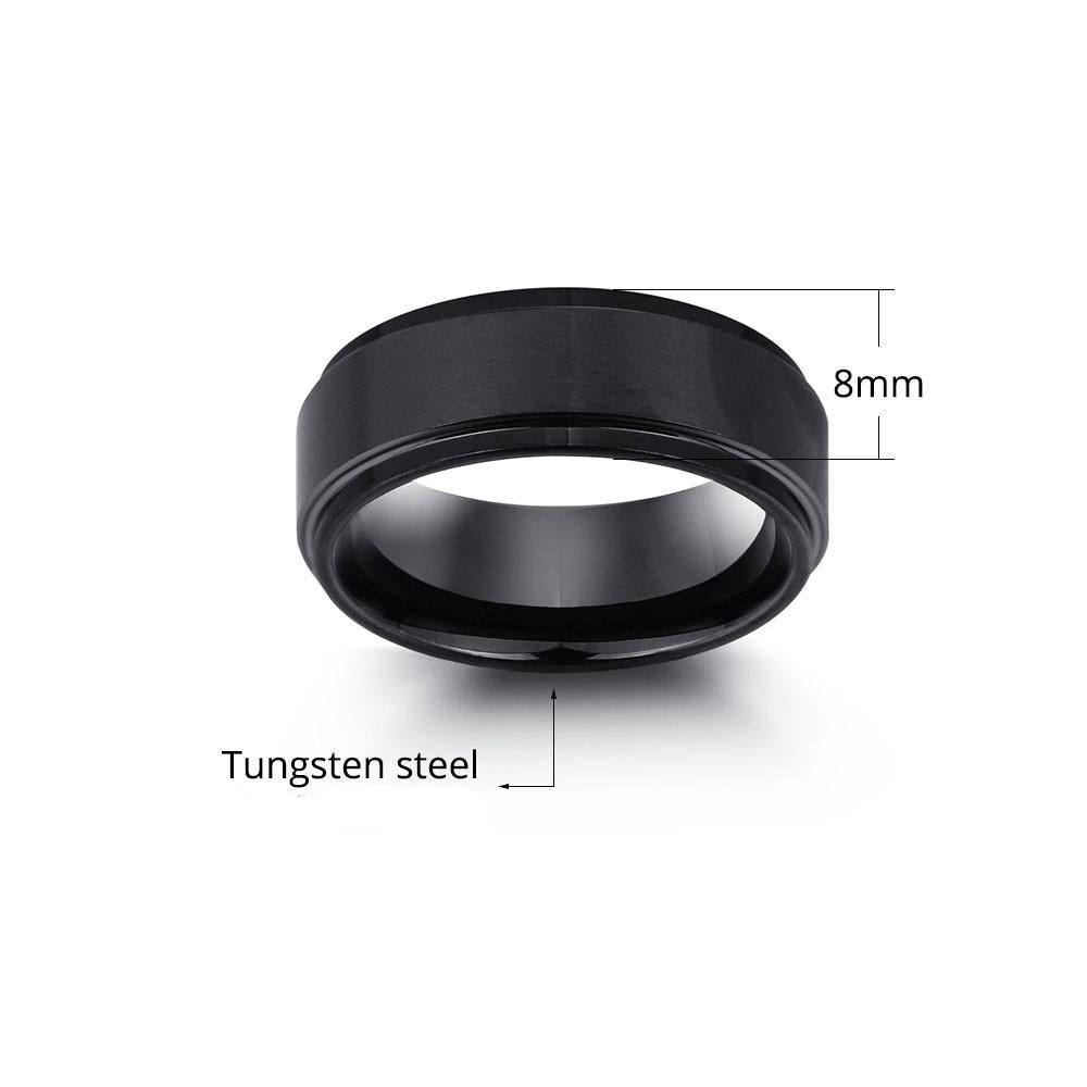Penelope's Personalized Engrave Tungsten Purity Ring