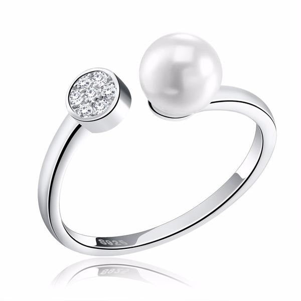 Penelope's Classic Pearl Promise Ring