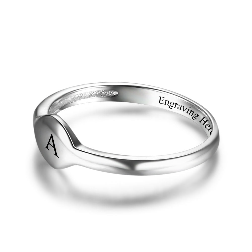 Penelope's L.O.V.E Custom Engrave Purity Ring