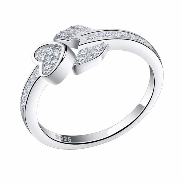 Penelope's Bow and Arrow of Love Promise Ring