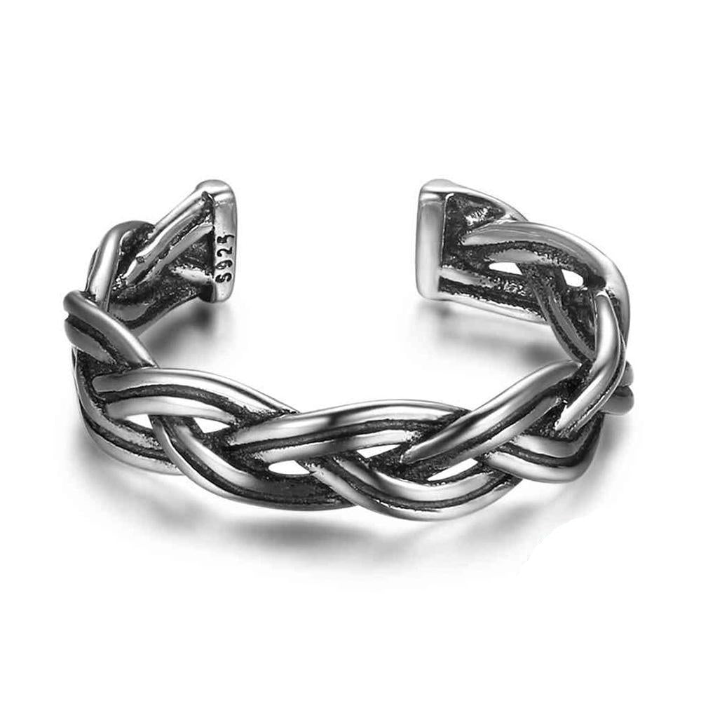 Penelope's Adjustable Celtic Knot Ring
