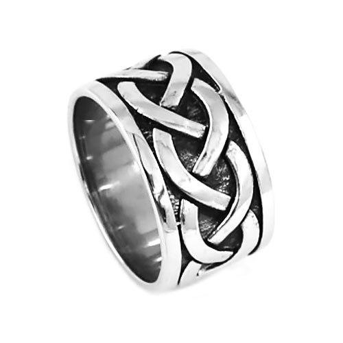 Penelope's Classic Stainless Steel Celtic Knot Ring