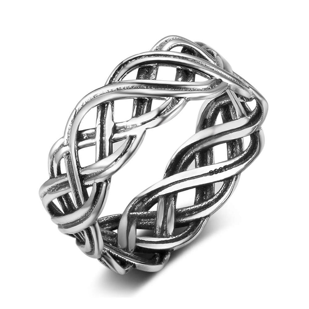 Penelope's Solid 925 Sterling Silver Celtic Knot Ring
