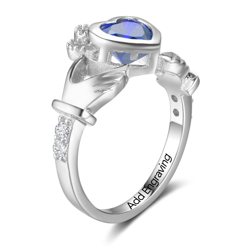 Penelope's Irish Love Claddagh Ring