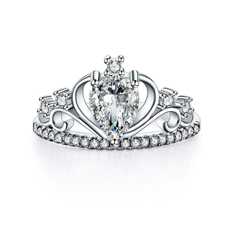 Penelope's Majestic Princess Crown Promise Ring