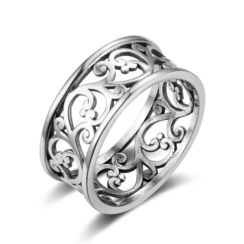 Penelope's Graceful Vines Purity Ring