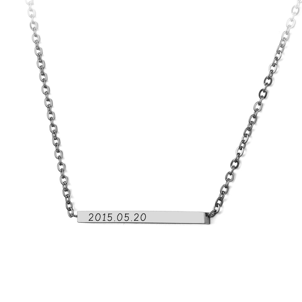 Penelope's Personalized Engrave Necklace