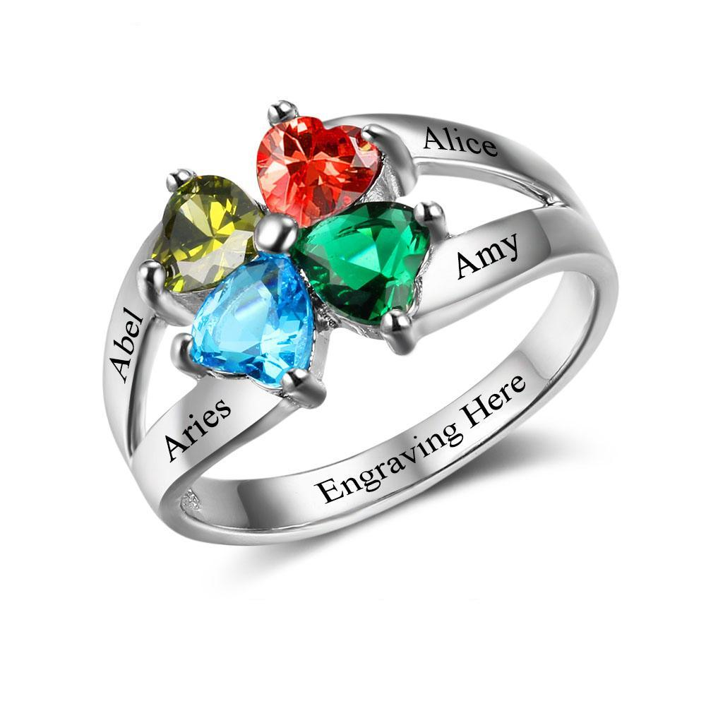 Penelope's Cornerstones Of Love Promise Ring