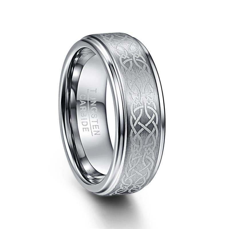 Penelope's Tungsten Carbide Celtic Knot Ring