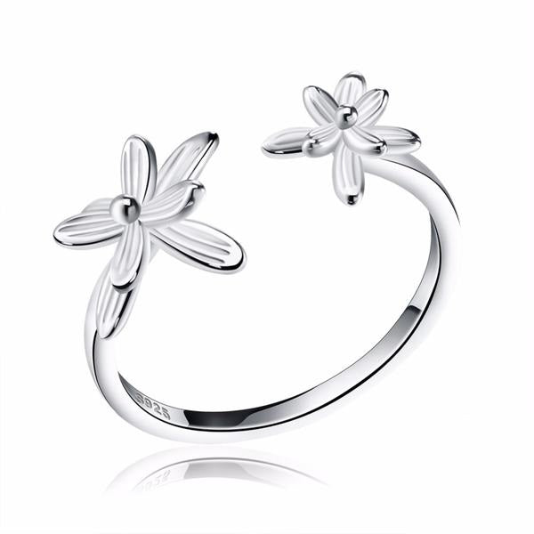 Penelope's Abstract Flower Promise Ring