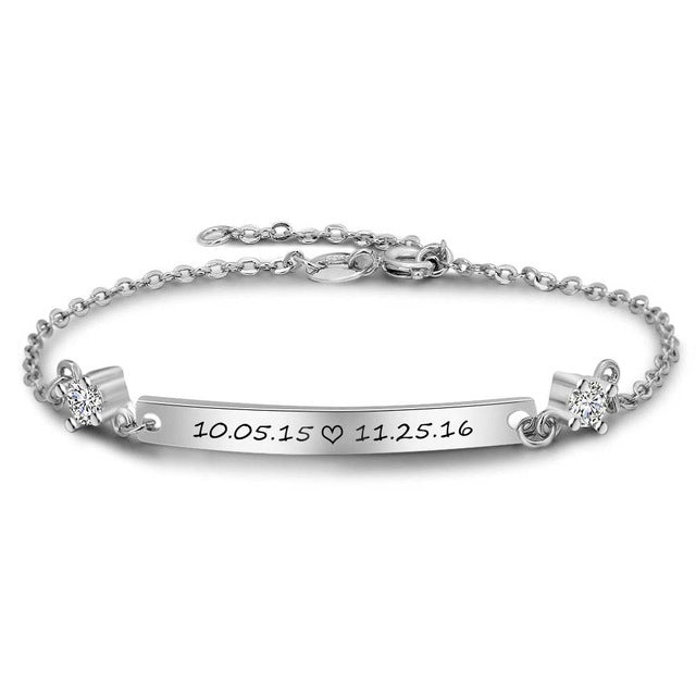 Penelope's Classic Personalized Name Bracelet