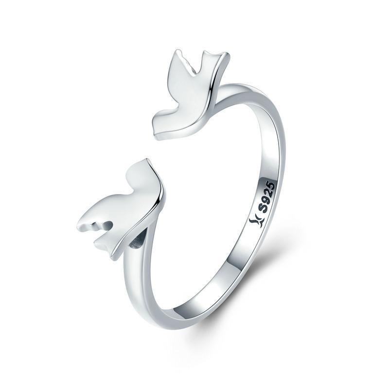 Penelope's Pure & Lovely Doves Christian Ring