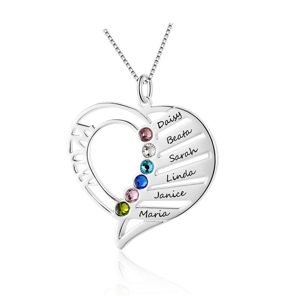 Penelope's Everlasting Devotion Personalized Engrave Name Necklace
